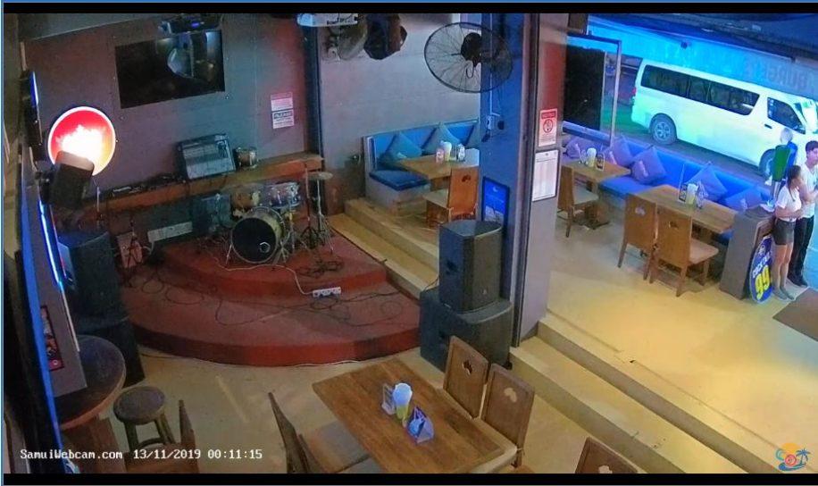 Live Cam Thailand, Bondi Aussie Bar Stage Webcam, Koh Samui 2