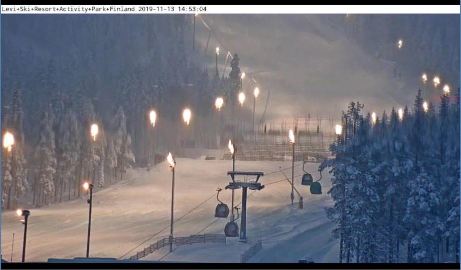Live Cam Finland, Levi Ski Resort Activity Park, Kittilä 3