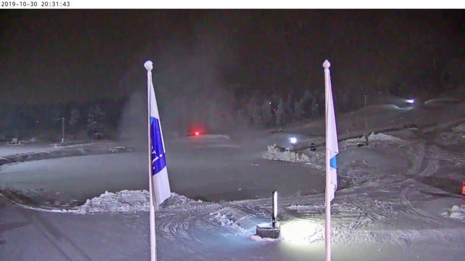 Live Cam Finland, Levi Ski Resort Zero Point, Kittilä 2