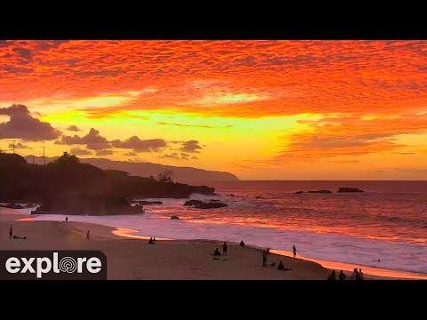 Live Cam Hawaii, Waimea Beach, Oahu 12