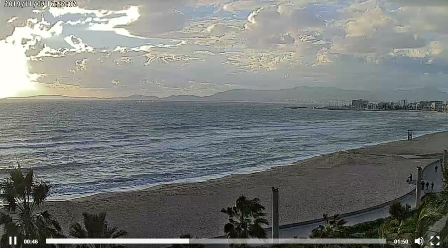 Live Cam Mallorca, El Arenal Beach Spain 16