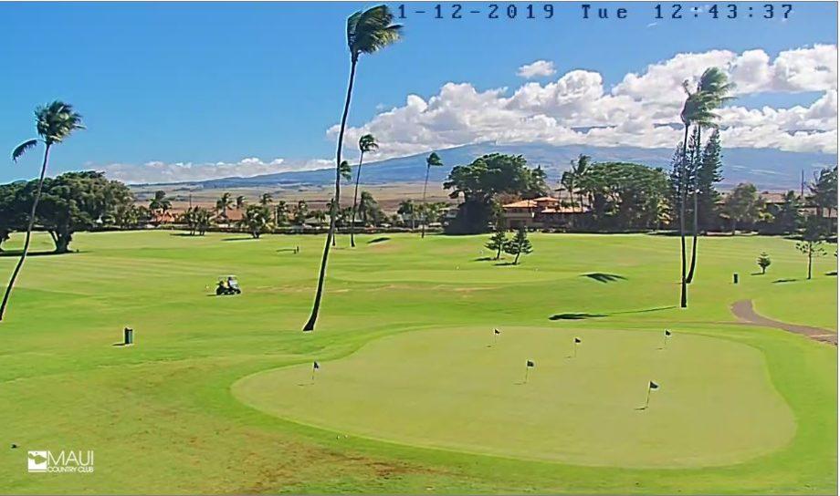 Live Cam Hawaii, Maui Golf Country Club 5