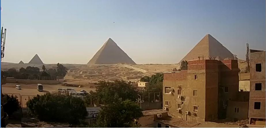 Live Cam Cairo, The Great Pyramids of Giza, Egypt 17