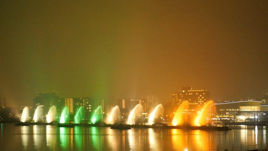 Live Cam Japan, Biwako Flower Fountain HD, Lake Biwa,Otsu 8