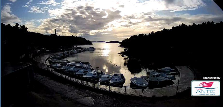 Live Cam Croatia, Sovlje Marina Boats, Tribunj