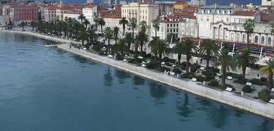 Live Cam Croatia, Split Harbour