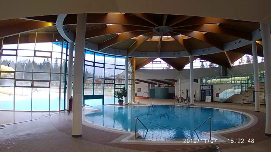 Live Cam Slovakia, Aquapark Oravice Indoor Pool 1
