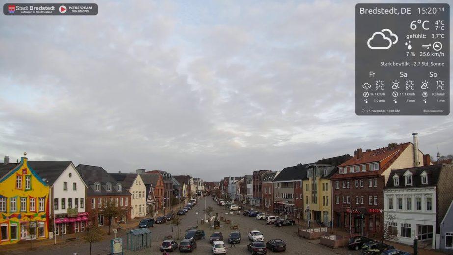 Live Cam Germany, Bredstedt Town Nordfriesland 2
