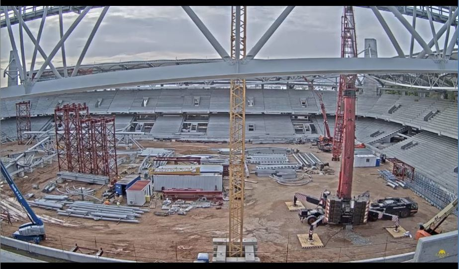 Live Cam Pireas, Stadium Constrution Cam, Greece 2