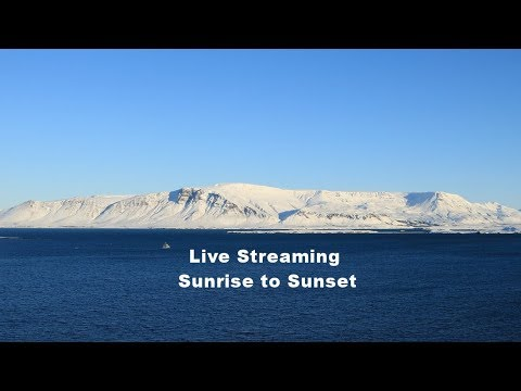 Live Cam Iceland, Esja Mountain Range, Reykjavík 3