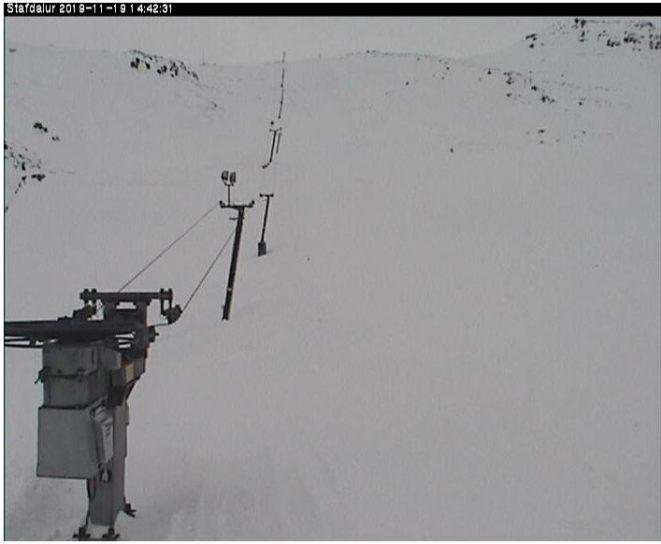 Live cam Iceland, Stafdalur Ski Station, Vesturvegur 12