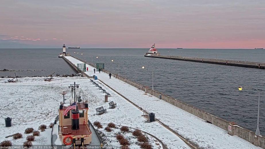 Live Cam Duluth Ship Canal, Minnesota USA 5