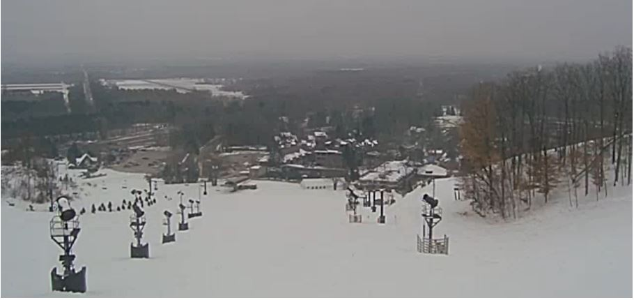 Live Cam Crystal Mountain Resort, Ski Michigan USA