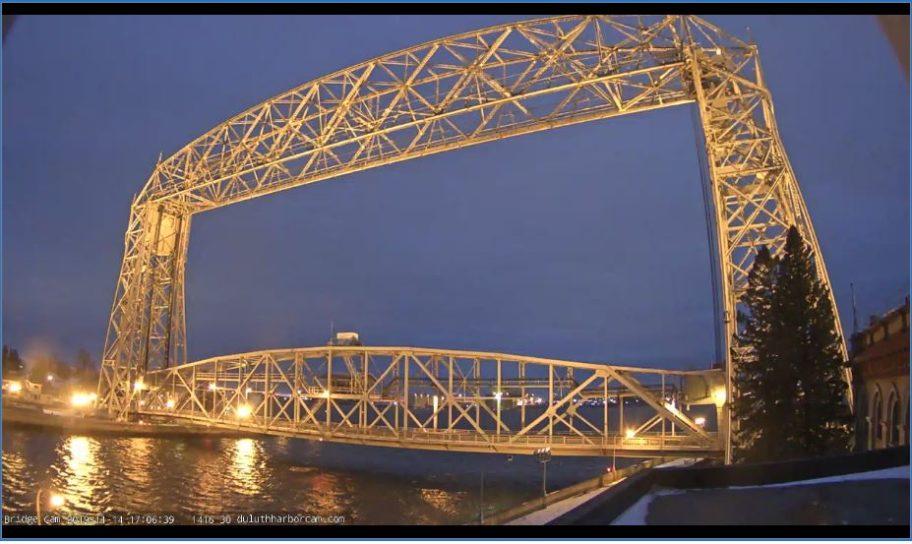 Live Cam Duluth Bridge webcam, Minnesota USA