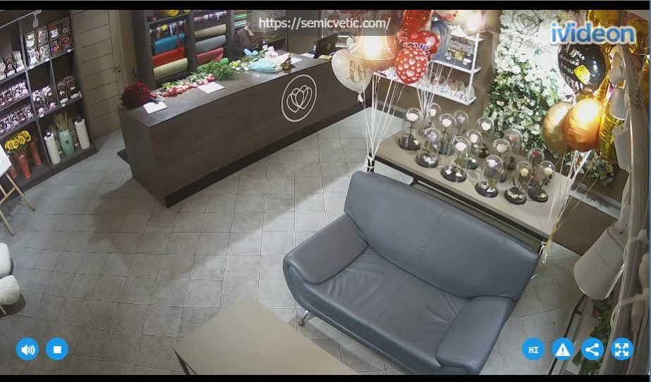 Live Cam St. Petersburg, Flower Shop Webcam Russia 5