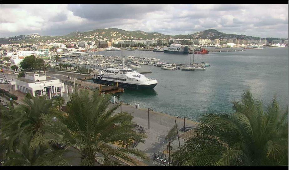 Live Cam Ibiza Port, Panoramic HD Spain 4