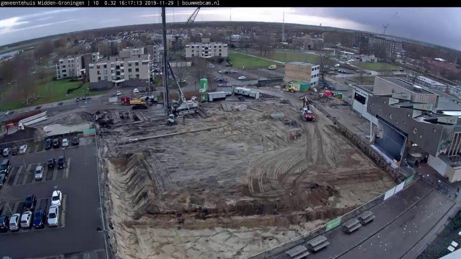 Live Cam Netherlands, Midden-Groningen Construction Webcam 4