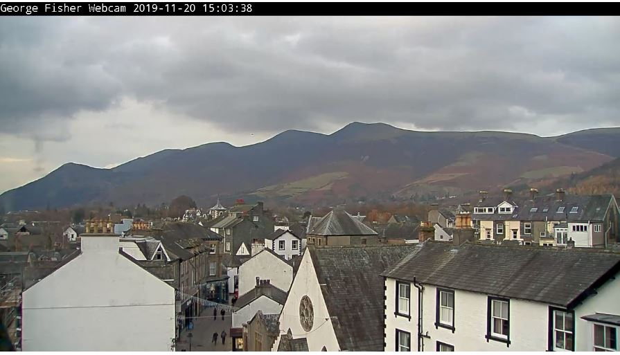 Live Cam Keswick, Cumbria Lake District, England 4
