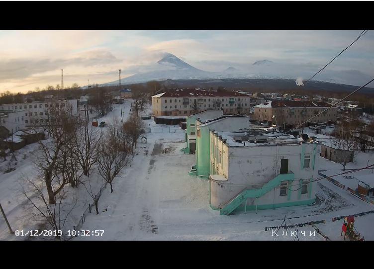 klyuchi village live cam russia