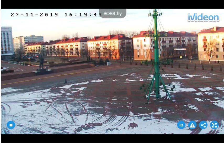 Live Cam Lennin Square, Bobruisk Belarus Webcam 1
