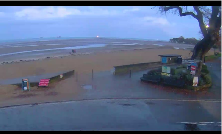 Live Cam Appley beach Ryde, Isle of Wight Webcam 7