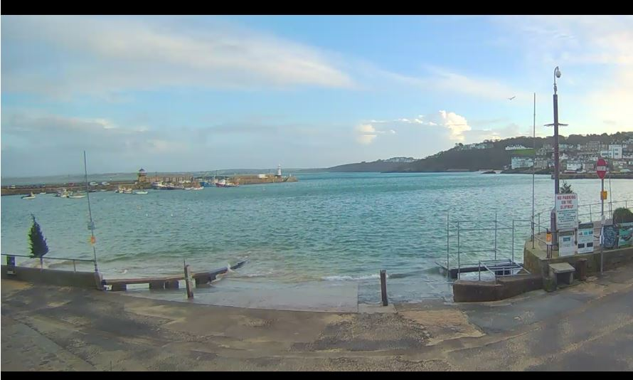 Live Cam St Ives Harbour, Cornwall Webcam 16
