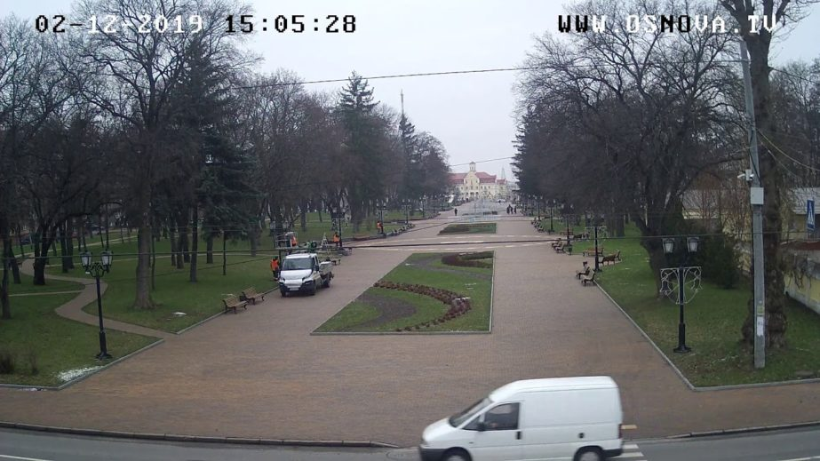 Live Cam Chernihiv, Alley of Heroes, Ukraine 1