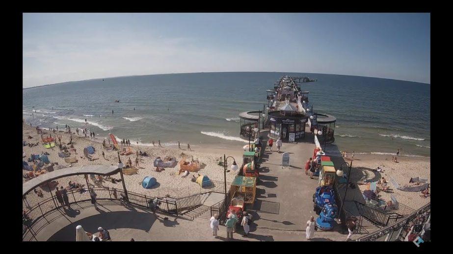Live Cam Miedzyzdroje Pier, Poland Webcam 1