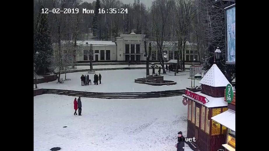 Live Cam Truskavets, Mineral Springs,  Ukraine