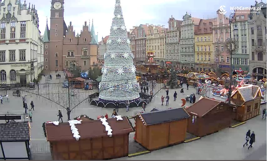 live cam wroclaw town hall poland