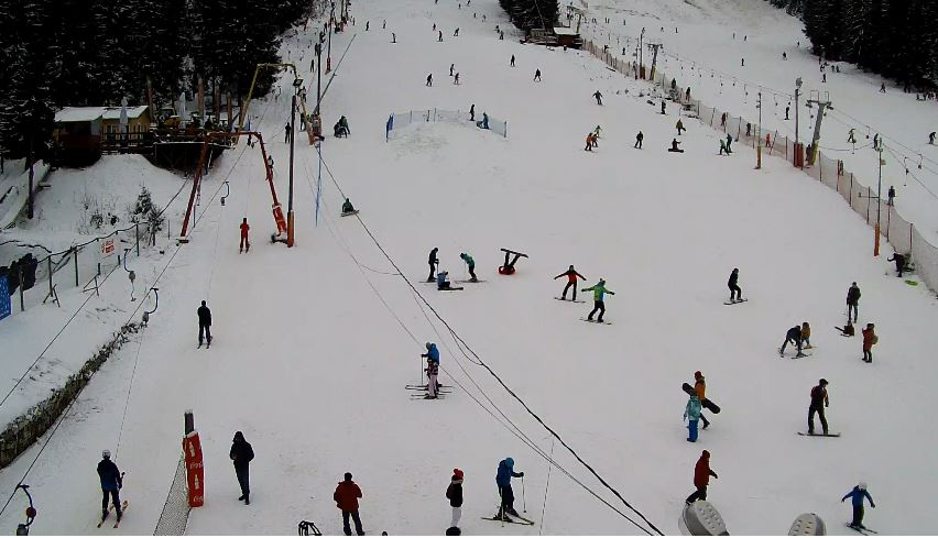 romania ski webcam
