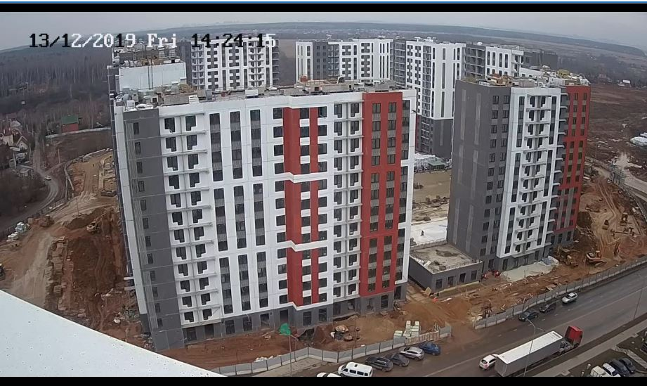 russia construction site webcam