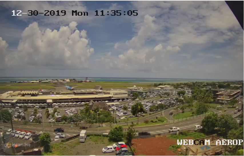 tahiti airport webcam
