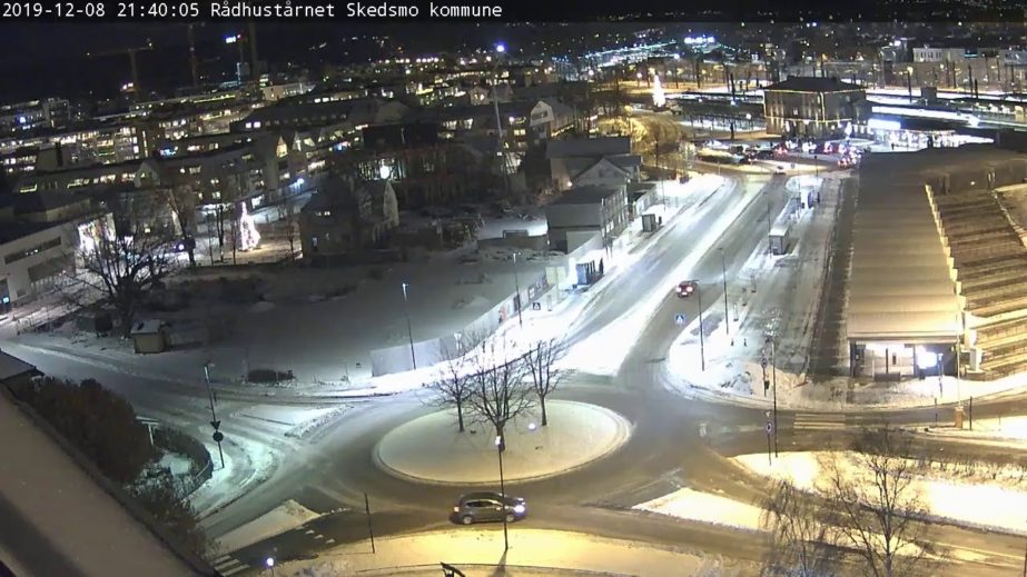 Live Cam Skedsmo, City Hall Tower, Norway 2