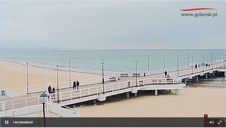 brzezno beach live cam