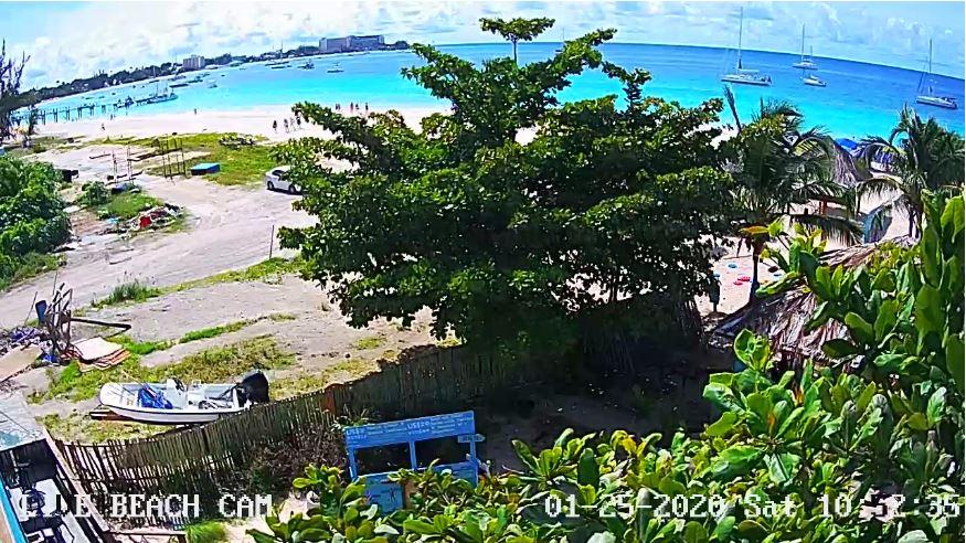 bridgetown beach live cam