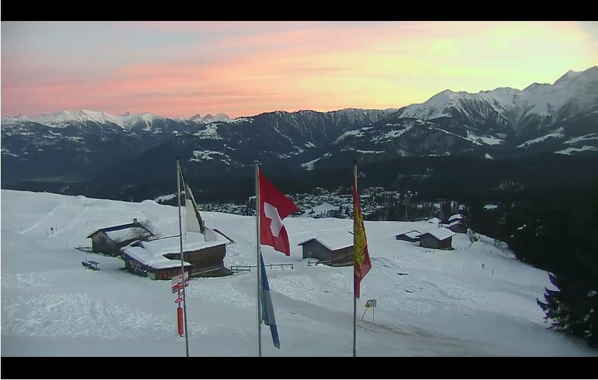 Flims Dorf Live Cam, Foppa Mountain, Switzerland