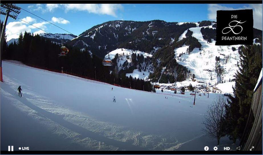Hochkönig Mountain Live Cam, HD Ski , Austria