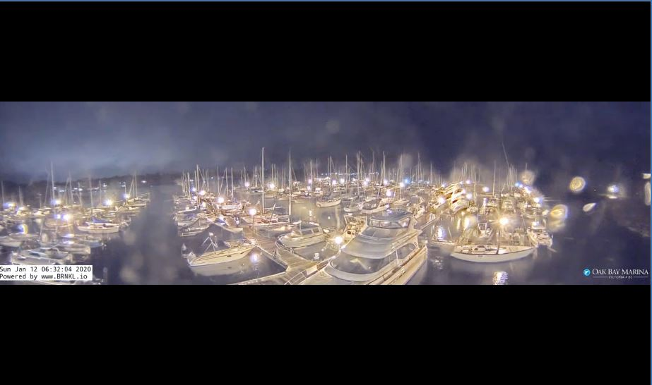 Oak Bay Marina Live Cam, Amazing HD Canada