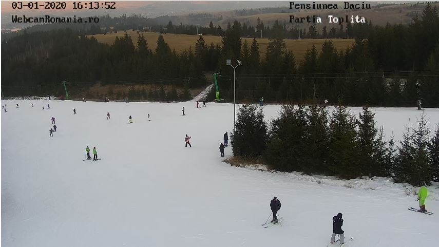 romania ski live cam