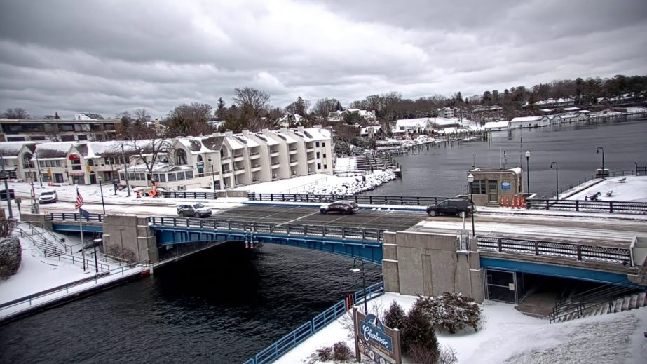 Charlevoix Michigan Live Cam, Bridge Webcam USA