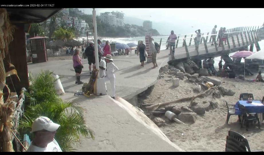 puerto vallarta beach live cam
