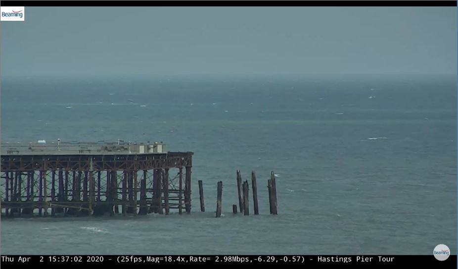 hastings pier live cam