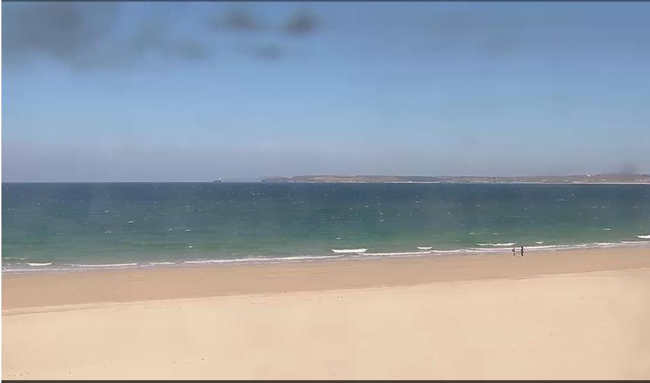 porthminster beach live cam