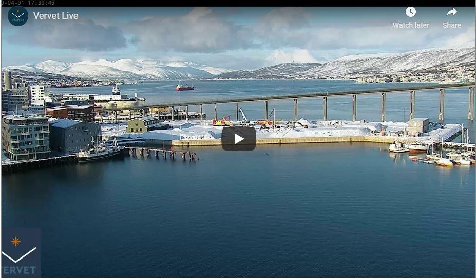 tromso port live cam