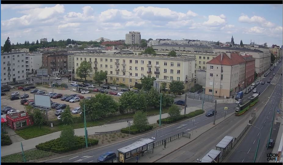 poznan traffic webcam