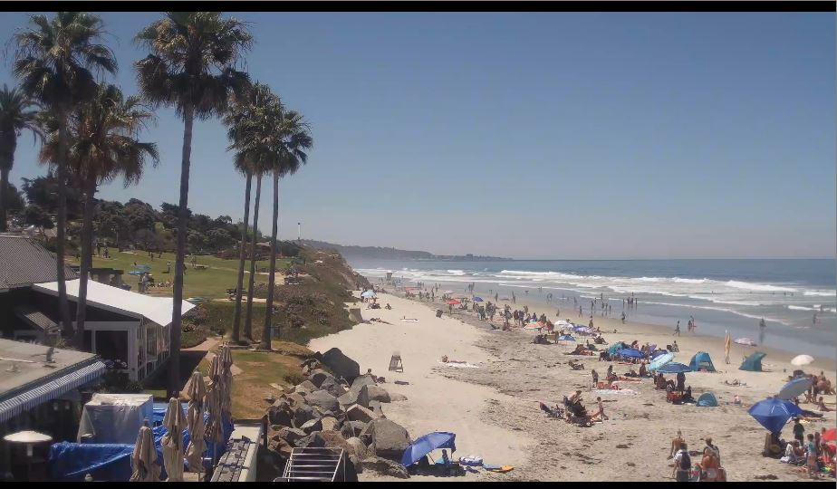 del mar beach live webcam