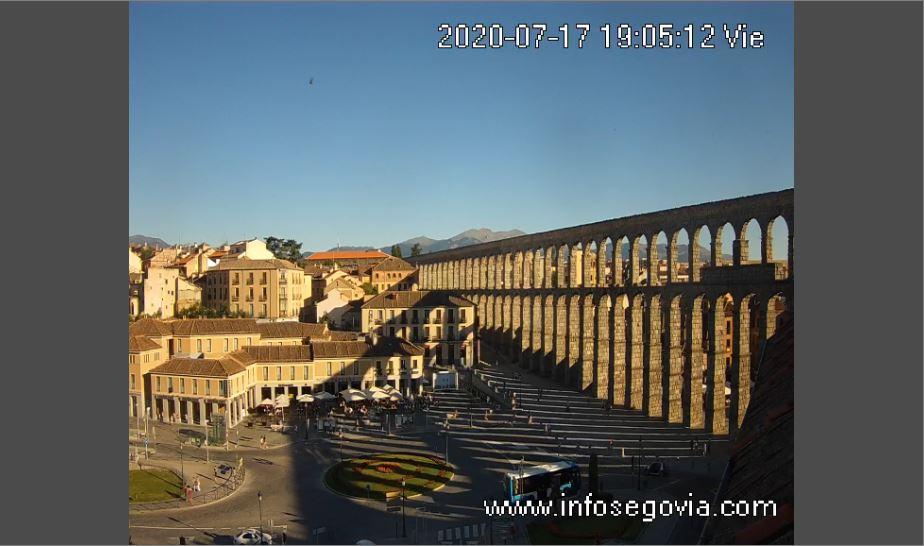 Aqueduct of Segovia Live Webcam