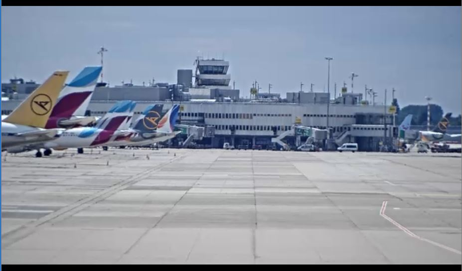 Dusseldorf Airport Live Webcam