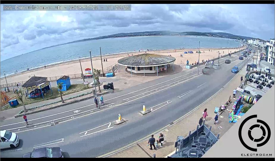 Exmouth Seafront Live Webcam